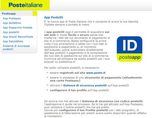 POSTE ID